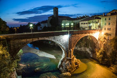 Devil's bridge of Cividale del Friuli Royalty Free Stock Image