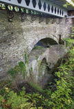 Devil's Bridge from near top, old set of three bridges. Royalty Free Stock Photos