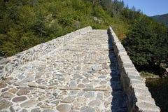 The Devil's Bridge over Arda river and Rhodopes mountain, Bulgaria Stock Photo