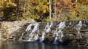 Devil's Den Waterfall. Arkansas stock images