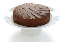 Devil's food cake Stock Image