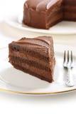 Devil's food cake Stock Photography