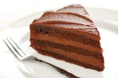 Devil's food cake Stock Image