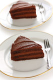 Devil's food cake Stock Photography