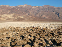 Devil's Golf Course Death Valley Royalty Free Stock Photos