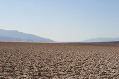 Devil's Golf Course, Death Valley, California Royalty Free Stock Images