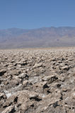 Devil's Golf Course; Death Valley, California; Usa Royalty Free Stock Photo