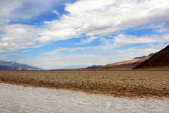 Devil Golf Course. In Death Valley National Park, USA Stock Photography