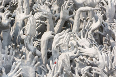 Devil's Hands from Hell, one of many beautiful decorations in Ro Royalty Free Stock Photos