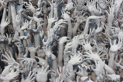 Devils Hands from Hell, one of many beautiful decorations in Ro Stock Photos