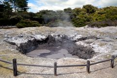 Devil's Ink Pots, Wai-O-Tapu Royalty Free Stock Photos