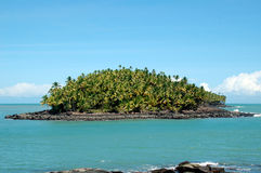 Devil's island in French Guiana Stock Photography