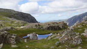 Devil's Kitchen near Glyder Fawr Royalty Free Stock Photo