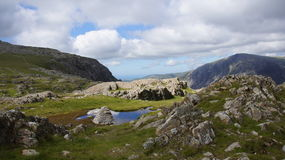 Devil's Kitchen near Glyder Fawr Royalty Free Stock Image