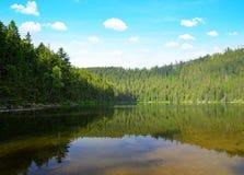 Devil`s Lake in Czech Republic. Royalty Free Stock Image