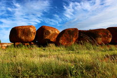 Devil`s Marbles, Northern Territory Royalty Free Stock Photography