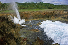Devil's Mouth, Samana peninsula Royalty Free Stock Image