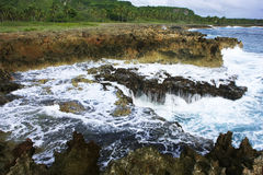 Devil's Mouth, Samana peninsula Royalty Free Stock Photos