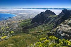 Devil`s Peak, Cape Town Royalty Free Stock Photos