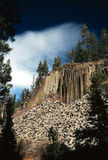 Devil's Postpile National Monu Royalty Free Stock Image