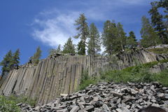 Devil's Postpile National Monument Stock Photography