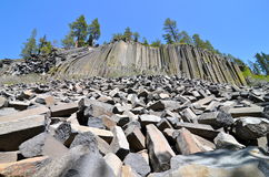 Devil's Postpile National Monument, California Stock Photography