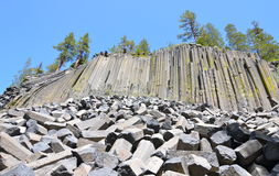 Devil's Postpile National Monument, California Royalty Free Stock Photo