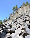 Devil's Postpile National Monument, California Stock Images