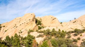 Devil's Punchbowl in Southern California stock footage