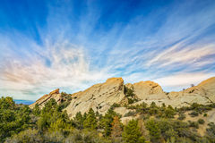 Devil's Punchbowl in Southern California Stock Photos