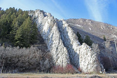 Devil`s Slide, Utah Royalty Free Stock Image