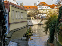 Devil's Stream in Prague Royalty Free Stock Images