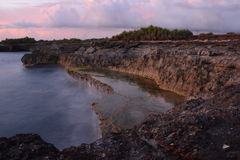 Devil's Tear. Nusa Lembongan, Indonesia Royalty Free Stock Image