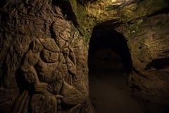Devil`s Throat Cave Royalty Free Stock Photos