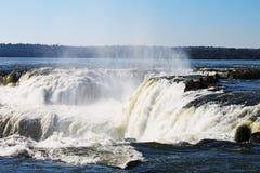 Devil`s Throat Falls - Iguazu, Argentina stock photography