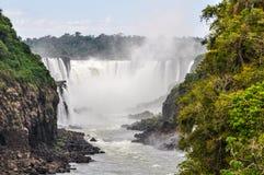 Devil's Throat, Iguazu Falls, Argentina Stock Photo