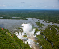 Devil's Throat waterfall of the Iguazu Royalty Free Stock Image