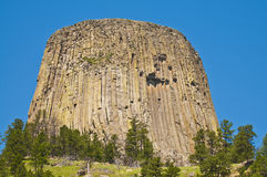 Devil's Tower Royalty Free Stock Photos