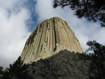 Devil's Tower Stock Image