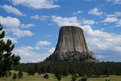 Devil's Tower Day Stock Photos