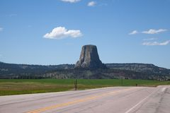 Devil's Tower Royalty Free Stock Image