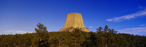 Devil's Tower National Monument Royalty Free Stock Photography