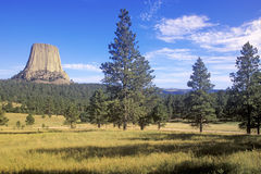 Devil's Tower National Monument, Royalty Free Stock Photography