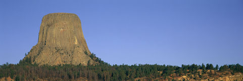Devil's Tower National Monument Royalty Free Stock Image