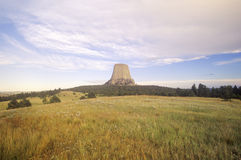 Devil's Tower National Monument Royalty Free Stock Photo
