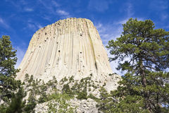 Devil's Tower National Monument Stock Photography