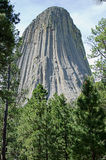 Devil's Tower National Monument, Wyoming, USA Stock Photography