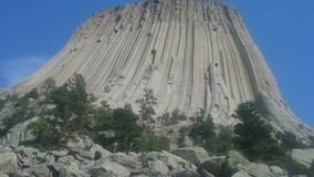 devils tower Stock Photo
