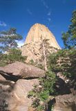 Devil's Tower, Wyoming Stock Images