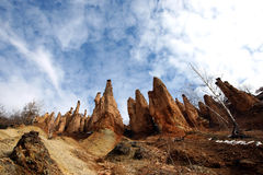 Devil's Town. In the Serbia Royalty Free Stock Photography